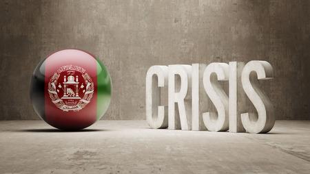 subprime mortgage crisis: Afghanistan High Resolution Crisis Concept
