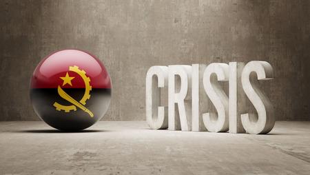 subprime: Angola High Resolution Crisis Concept