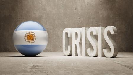subprime: Argentina High Resolution Crisis Concept