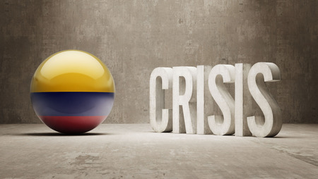 subprime: Colombia High Resolution Crisis Concept