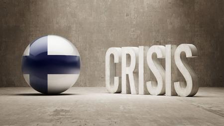 subprime: Finland High Resolution Crisis Concept
