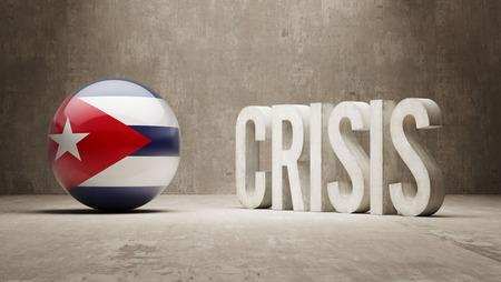 subprime: Cuba High Resolution Crisis Concept