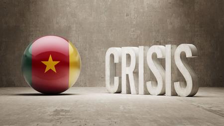subprime mortgage crisis: Cameroon High Resolution Crisis Concept Stock Photo