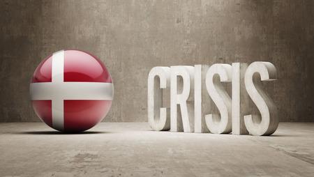 subprime: Denmark High Resolution Crisis Concept