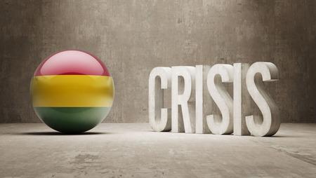 subprime: Bolivia High Resolution Crisis Concept Stock Photo