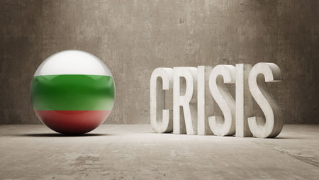 subprime: Bulgaria High Resolution Crisis Concept Stock Photo