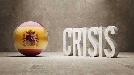 subprime: Spain High Resolution Crisis Concept