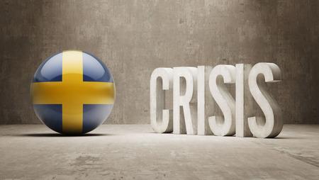 subprime: Sweden High Resolution Crisis Concept Stock Photo