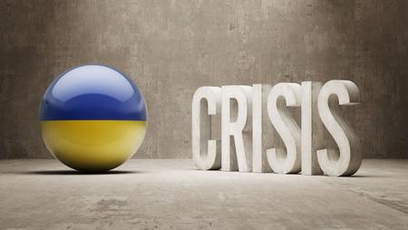 Ukraine High Resolution Crisis Concept