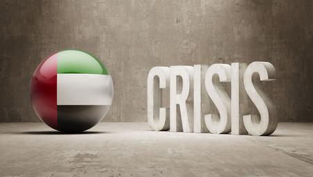 subprime: United Arab Emirates High Resolution Crisis Concept Stock Photo