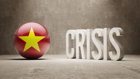 subprime: Vietnam High Resolution Crisis Concept Stock Photo