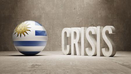 subprime: Uruguay High Resolution Crisis Concept