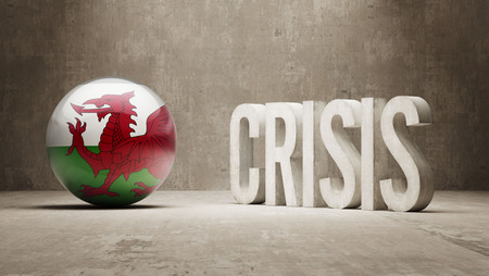 Wales High Resolution Crisis Concept