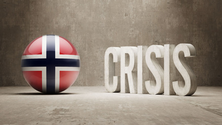 subprime mortgage crisis: Norway High Resolution Crisis Concept