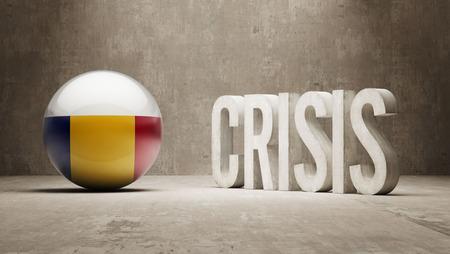 subprime: Romania High Resolution Crisis Concept Stock Photo