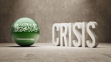 Saudi Arabia High Resolution Crisis Concept Stock Photo