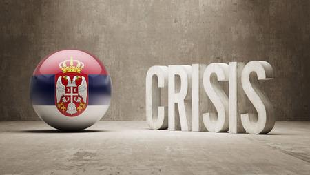 Serbia High Resolution Crisis Concept