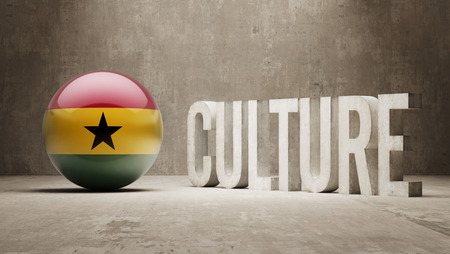 Ghana High Resolution Culture Concept Stock Photo