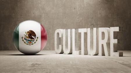 Mexico High Resolution Culture Concept