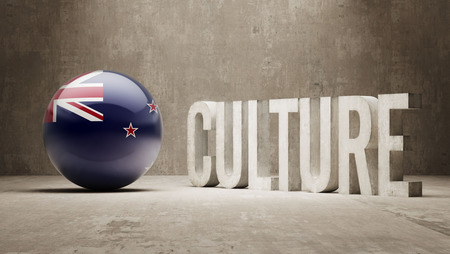 New Zealand High Resolution Culture Concept