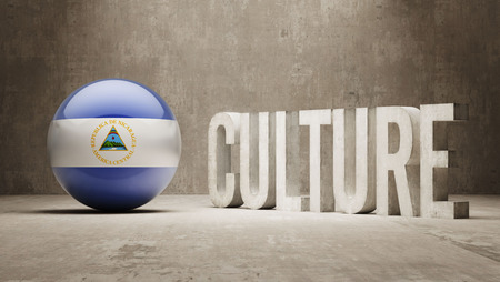 Nicaragua High Resolution Culture Concept