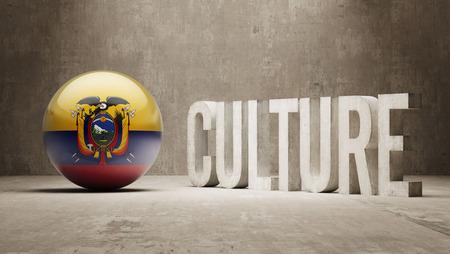 Ecuador High Resolution Culture Concept