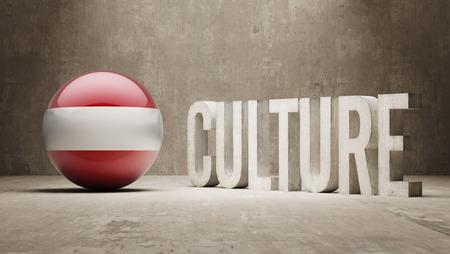 Austria High Resolution Culture Concept