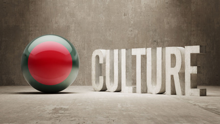 Bangladesh High Resolution Culture Concept