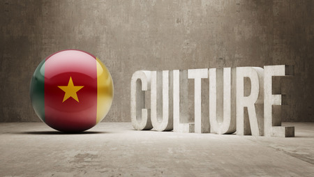 Cameroon High Resolution Culture Concept