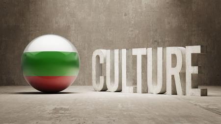 Bulgaria High Resolution Culture Concept