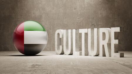 United Arab Emirates High Resolution Culture Concept