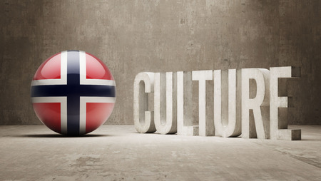 Norway High Resolution Culture Concept