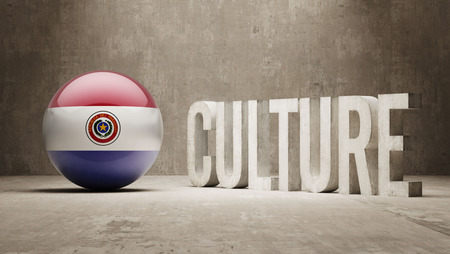 Paraguay High Resolution Culture Concept