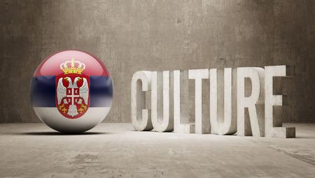 Serbia High Resolution Culture Concept