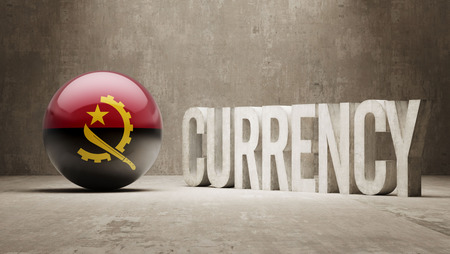 angola: Angola High Resolution Currency  Concept Stock Photo