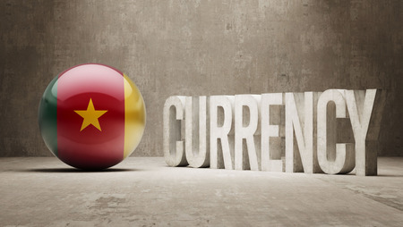 cameroon: Cameroon High Resolution Currency  Concept Stock Photo