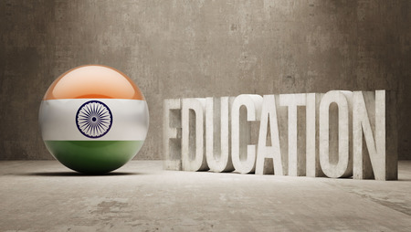 graduate asian: India High Resolution Education  Concept