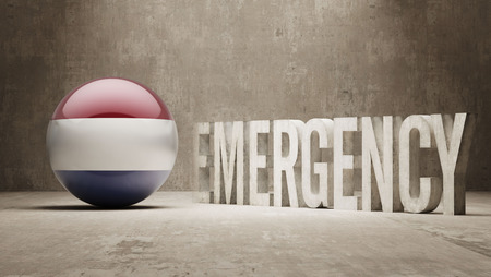 health care funding: Netherlands High Resolution Emergency  Concept Stock Photo