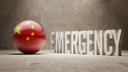 health care funding: China High Resolution Emergency  Concept