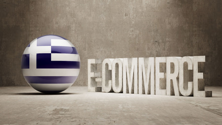 Greece High Resolution E-Commerce  Concept