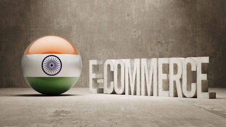 India High Resolution E-Commerce  Concept photo