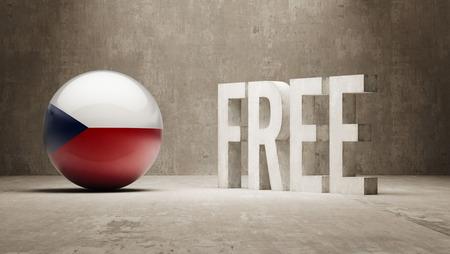 gratuity: Czech Republic High Resolution Free  Concept