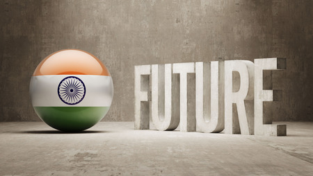 India High Resolution Future  Concept photo