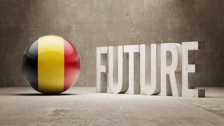 imminent: Belgium High Resolution Future  Concept Stock Photo
