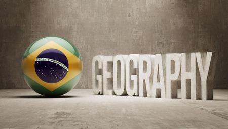 brasilia: Brazil High Resolution Geography  Concept