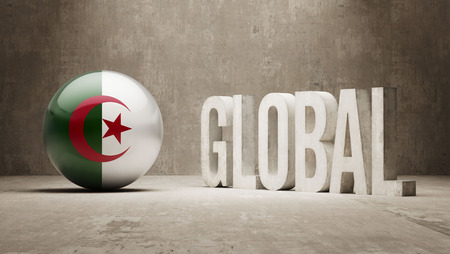 Algeria High Resolution Global  Concept photo