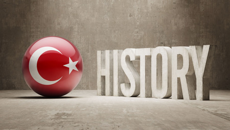 Turkey High Resolution History  Concept photo