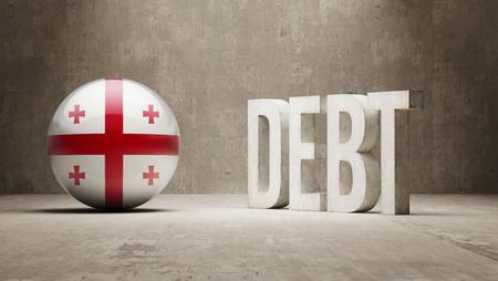 subprime: Georgia High Resolution Debt  Concept