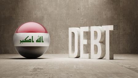 subprime: Iraq High Resolution Debt  Concept