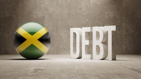 subprime: Jamaica High Resolution Debt  Concept